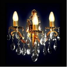 Бра Бронзовая 3 лампы №4